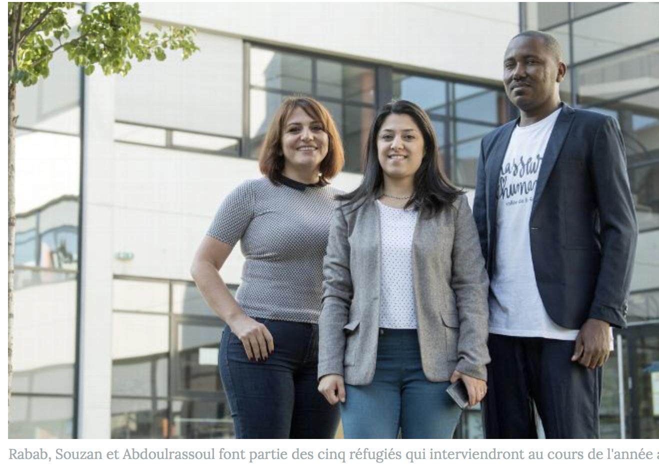 A la fac de Clermont-Ferrand, des migrants vont enseigner… même s'ils ne parlent pas le français