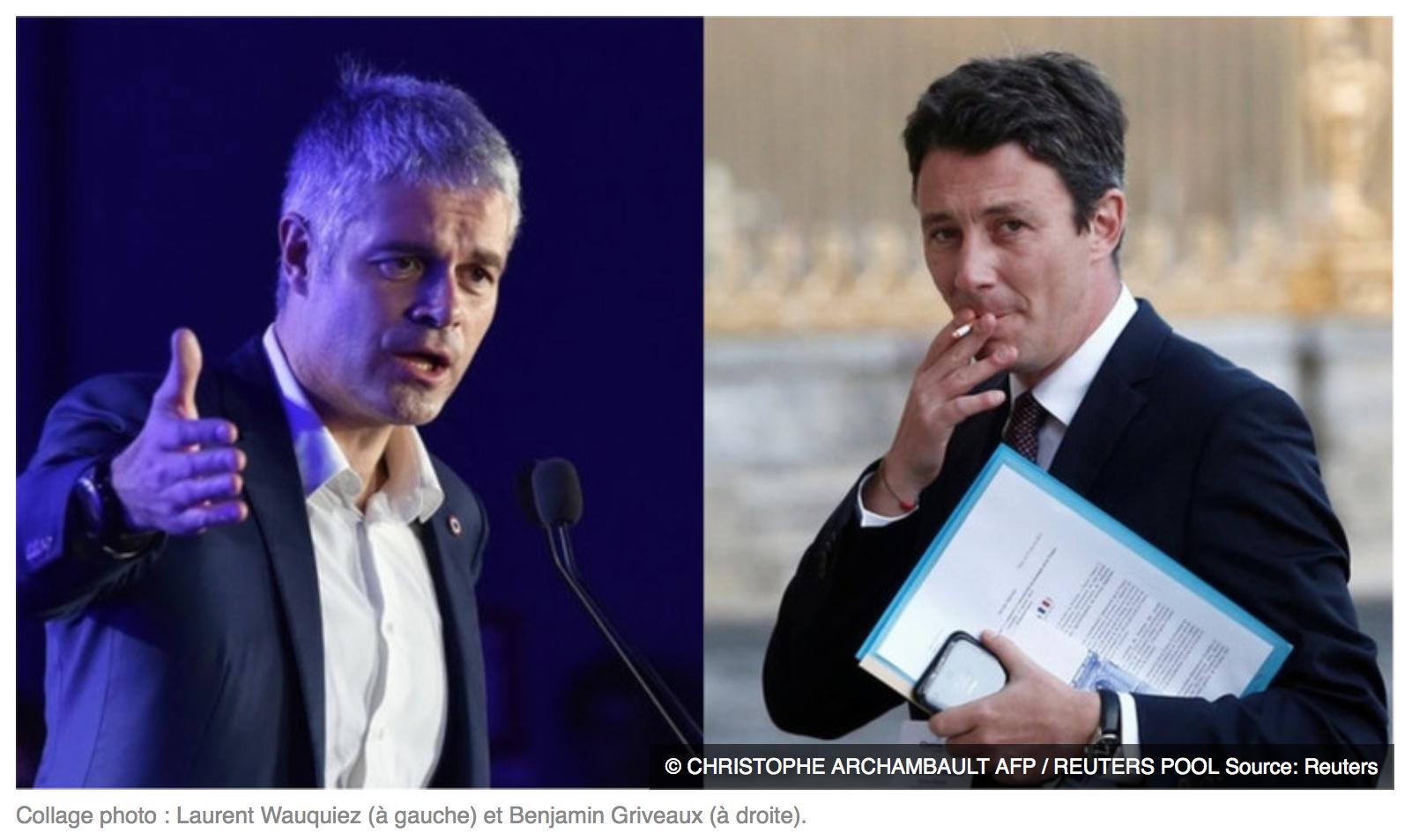 Macron-Griveaux  aime mieux les mecs qui se roulent des joints que ceux qui roulent des clops