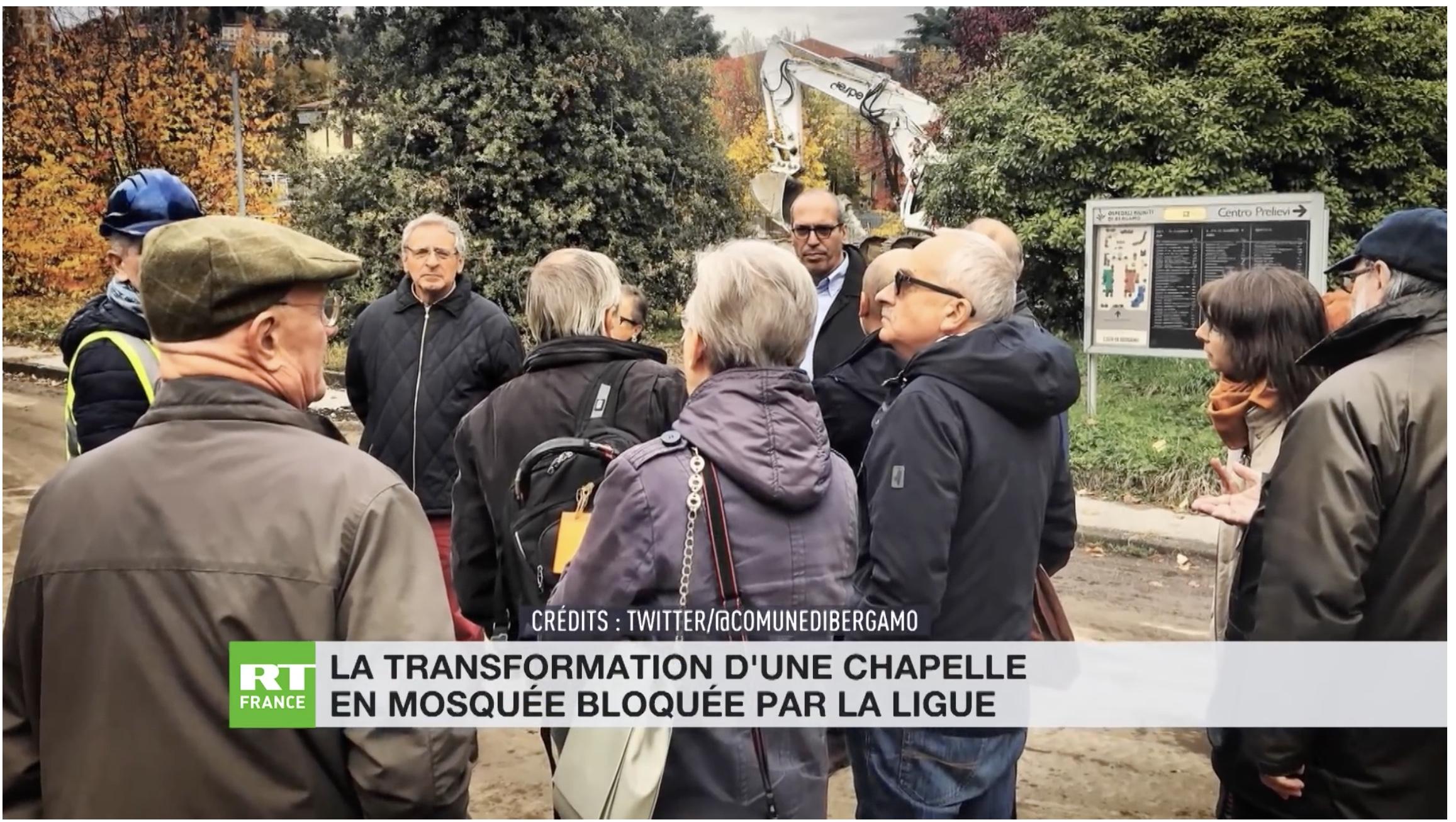 La Lega de Salvini rachète une chapelle pour empêcher qu'elle devienne une mosquée