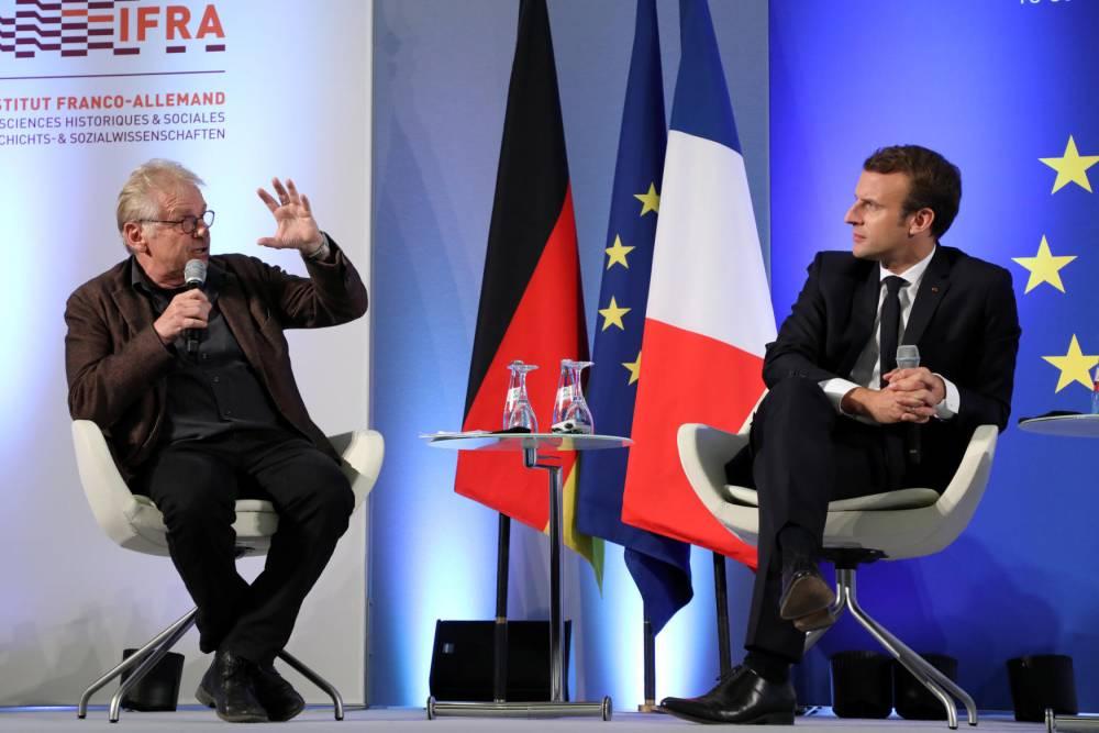 Je vais voter afin de combattre l'Eurocratie financière de Macron  et l'Eurobraguette de Cohn-Bendit