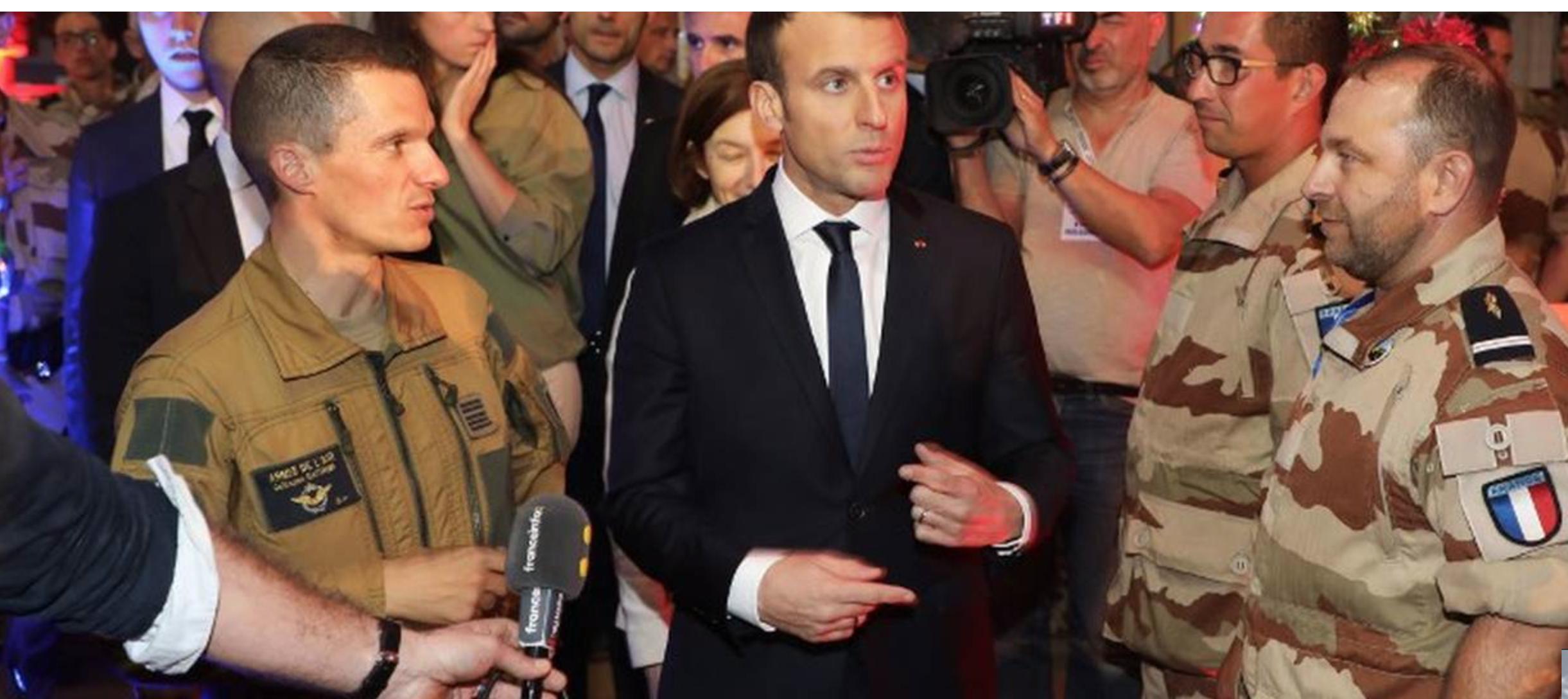 Quelle débauche de CO2, Macron, pour aller manger du foie gras au Tchad avec Drucker !