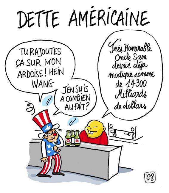 Macron achète pour 51 milliards de monnaie de singe aux Américains !!!