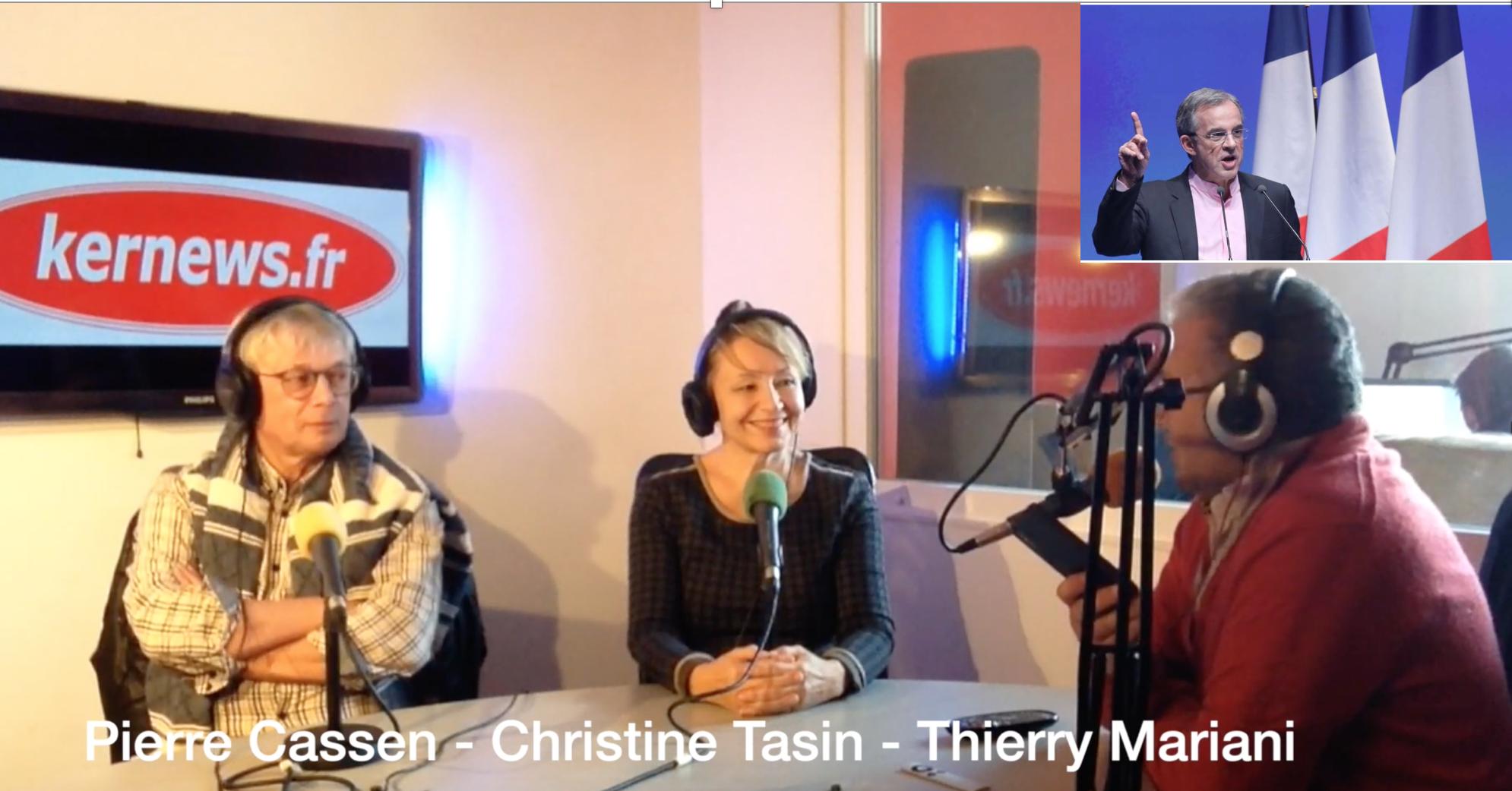 L'UE, à la source de nombre de nos maux : entretien entre Thierry Mariani, Pierre Cassen et Christine Tasin