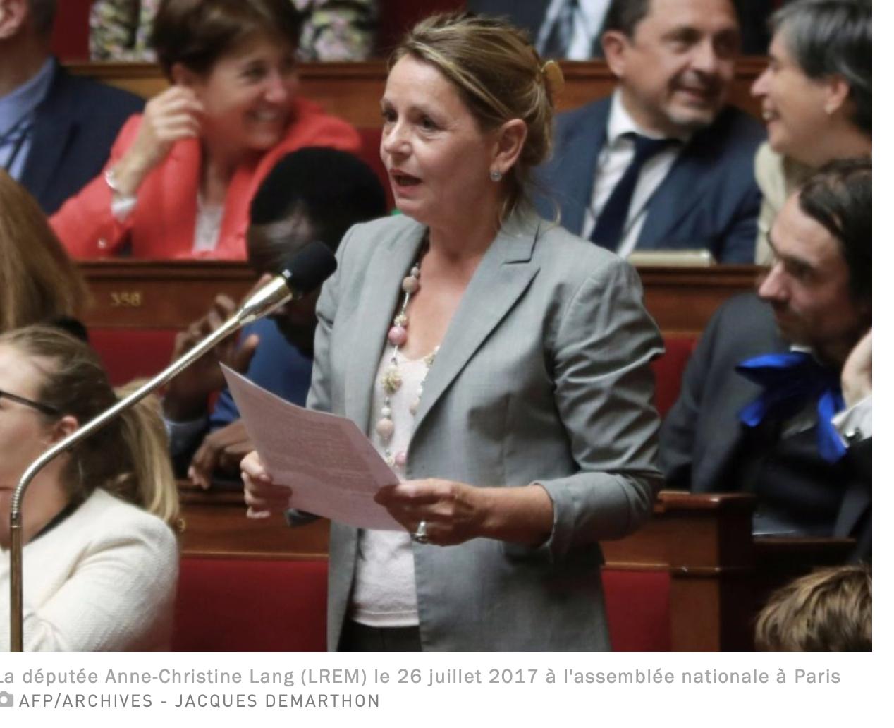 Ferrand choqué, la presse parle des dépenses illégales du député Marie-Christine Lang