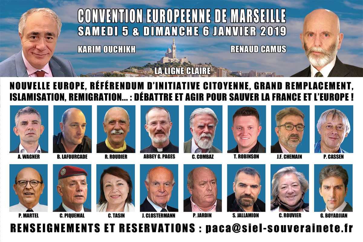 Grand Remplacement, islamisation, remigration, RIC : tous à Marseille !
