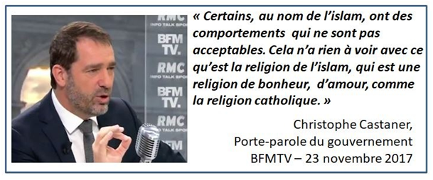 Pierre Cassen : Castaner est devenu plus islamophobe que Zemmour ! (video)