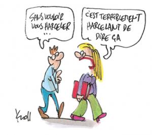 Sous Macron Premier, il est interdit de complimenter une jolie femme au travail !