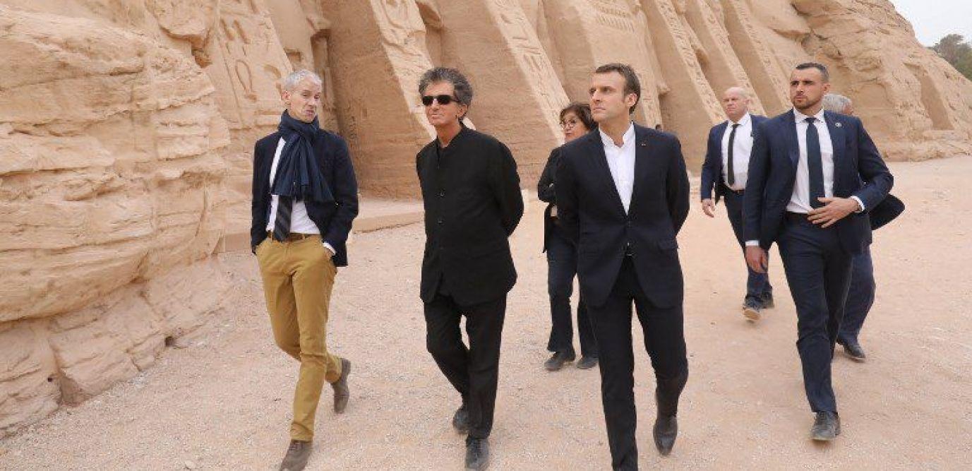Macron avait emmené une momie au pays des Pharaons…