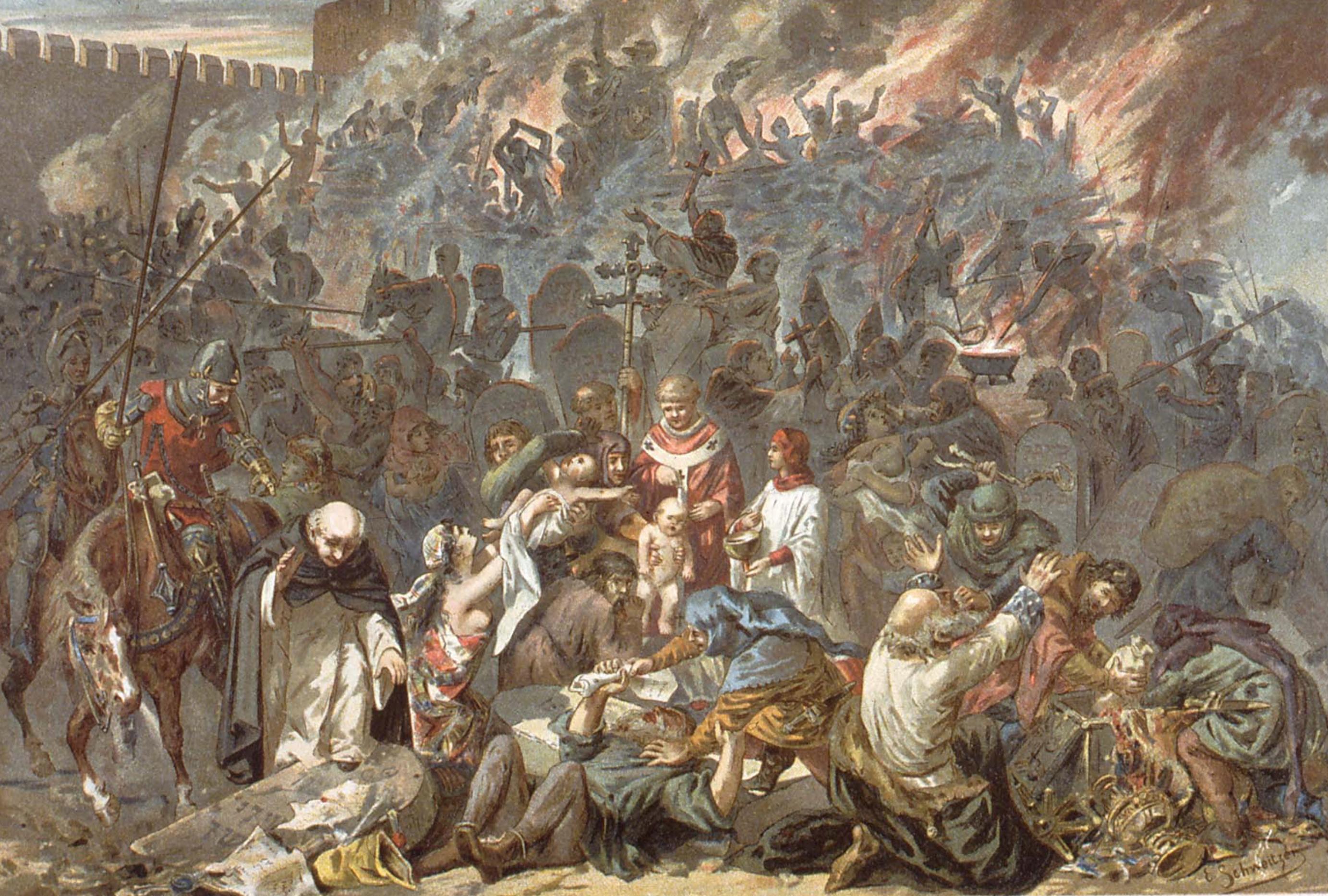 Pas un seul Juif tué en France par un Français entre 1347 et 1979 , depuis il ya des assassins musulmans