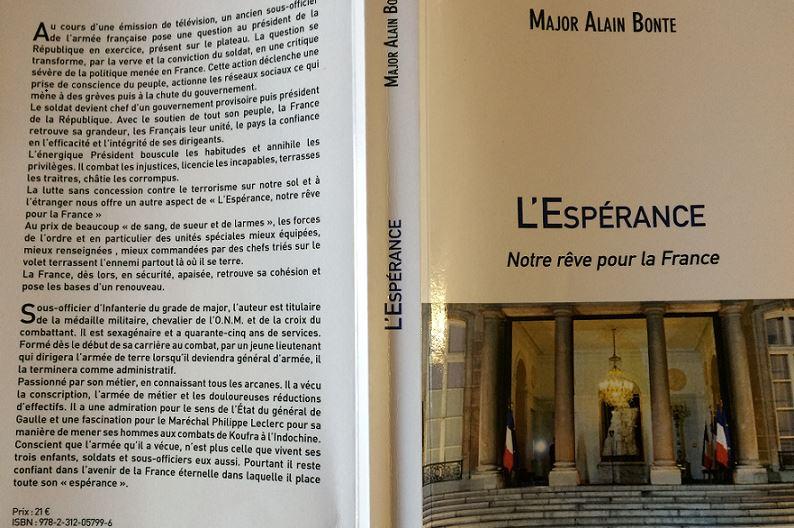 L'Espérance, notre rêve pour la France : le livre que tous les GJ doivent lire !
