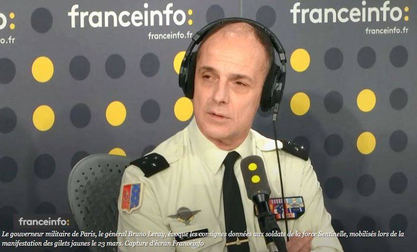 Général Le Ray : feu sur les Gilets jaunes, mais pas sur les djihadistes du Bataclan !