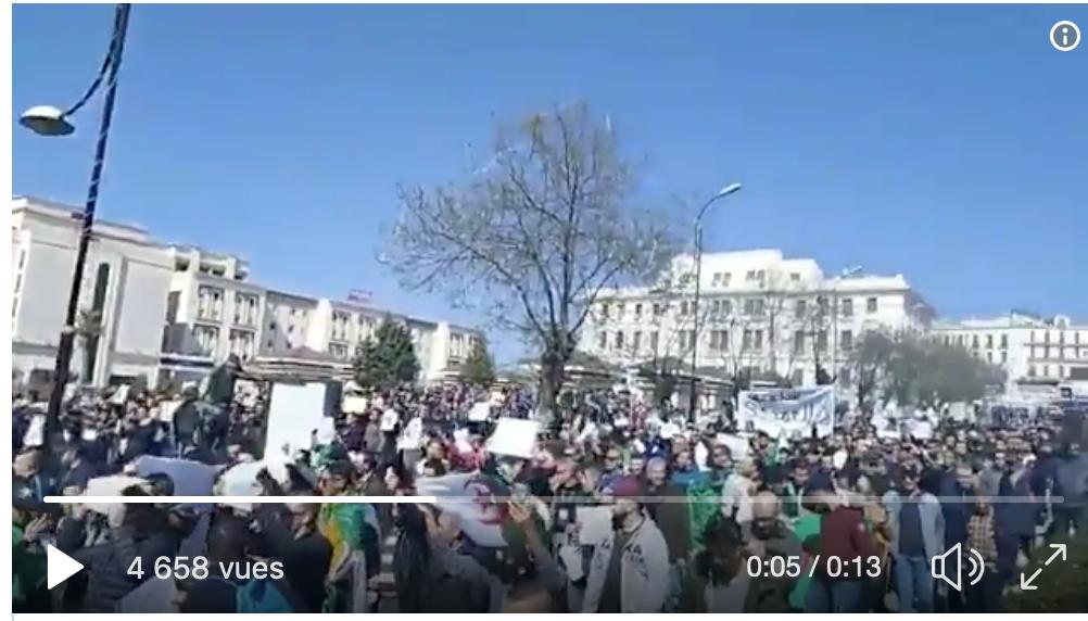 En Algérie ça manifeste, ça proteste, ça grouille… bientôt chez nous ?