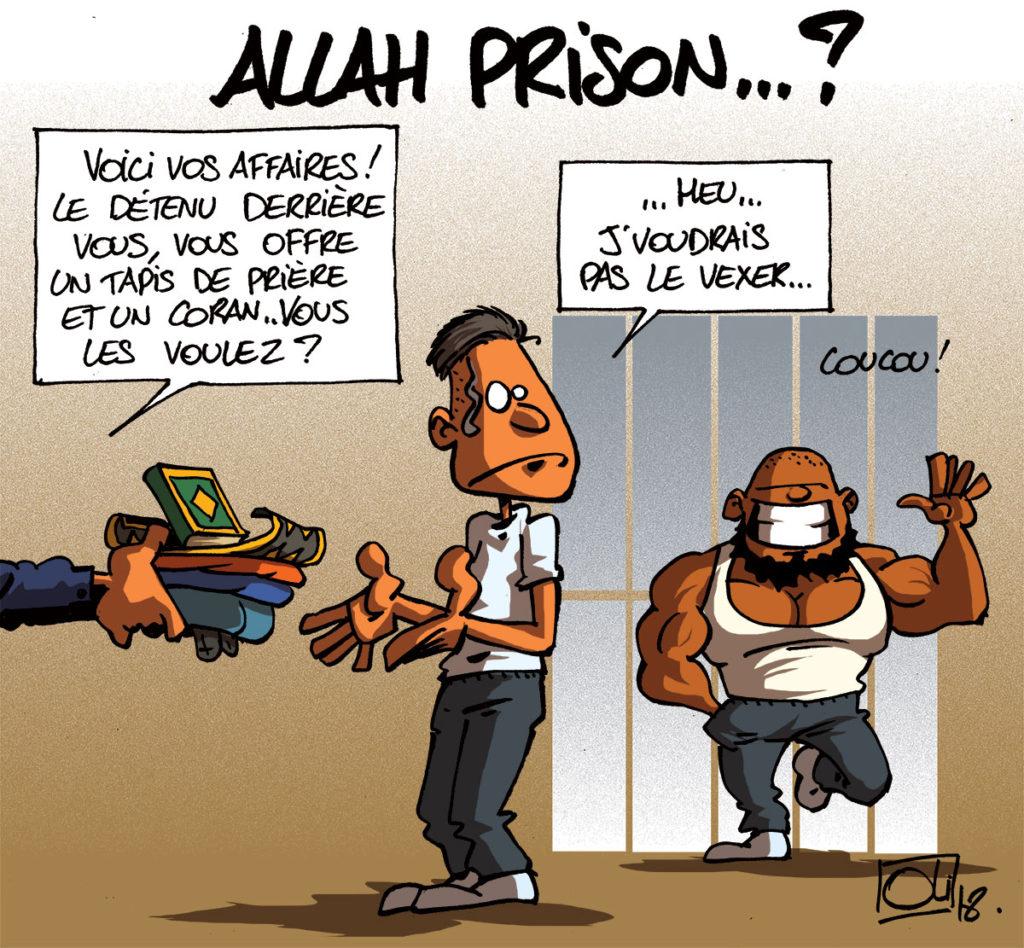 Pour empêcher conversion et radicalisation des Chiolo : ni musulmans ni Coran en prison !