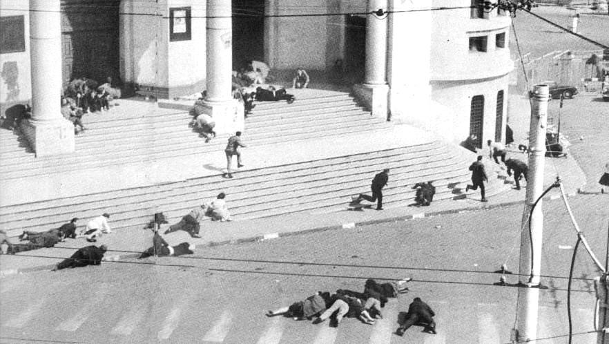Ceux qui se rappellent la rue d'Isly à Alger en 62 savent qu'une étincelle peut déclencher le massacre