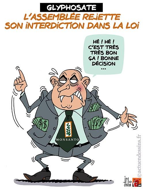 Scandaleux : le parti de Macron payé par Monsanto, Microsoft… au Parlement européen ! Marine avait raison