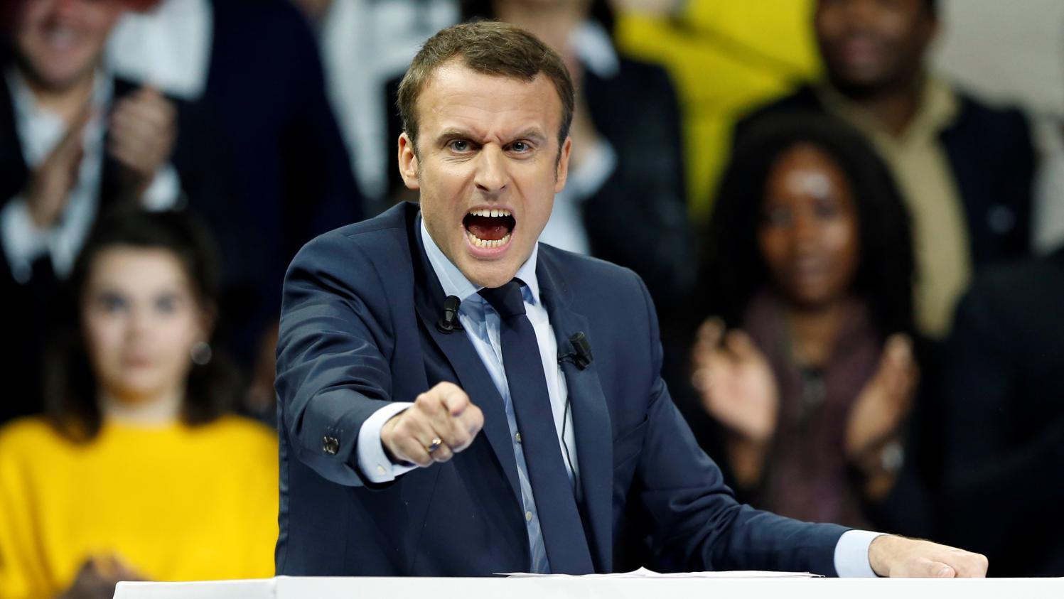 Il faut se débarrasser de Macron, ce type est un  fou dangereux… Regardez son clip des Européennes