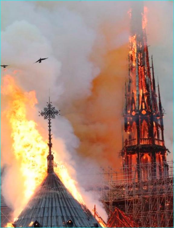 L'âme de la France ne peut pas partir en fumée, ND c'est l'Evangile  asiatique interprété par les Gaulois