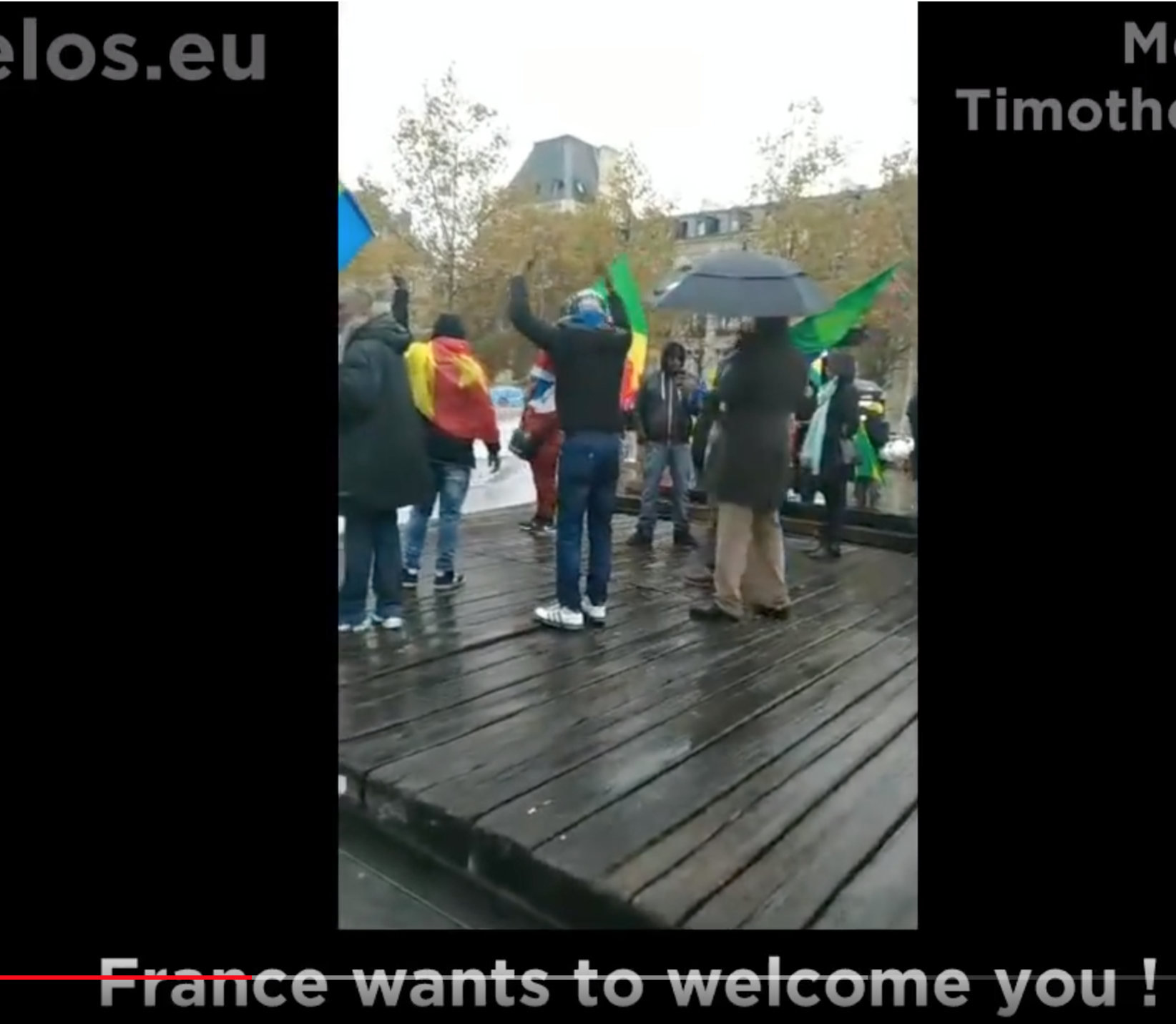 Insolite ou normal ? Un Africain appelle à envahir la France et à faire 15 enfants par femme…