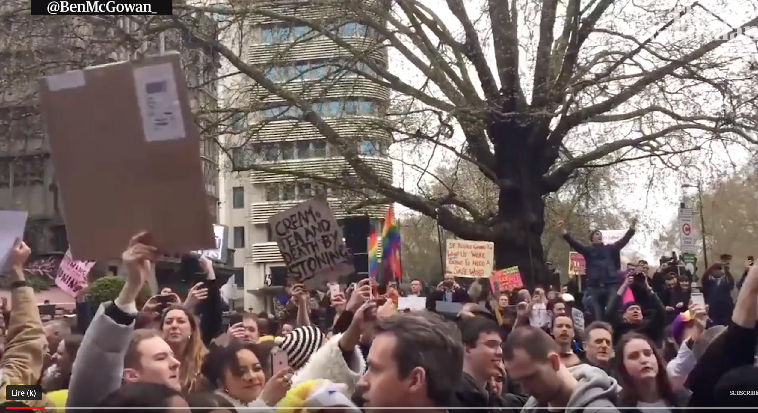 Manifestation contre Brunei à Londres : les homos vont-ils enfin comprendre ce qu'est l'islam ?