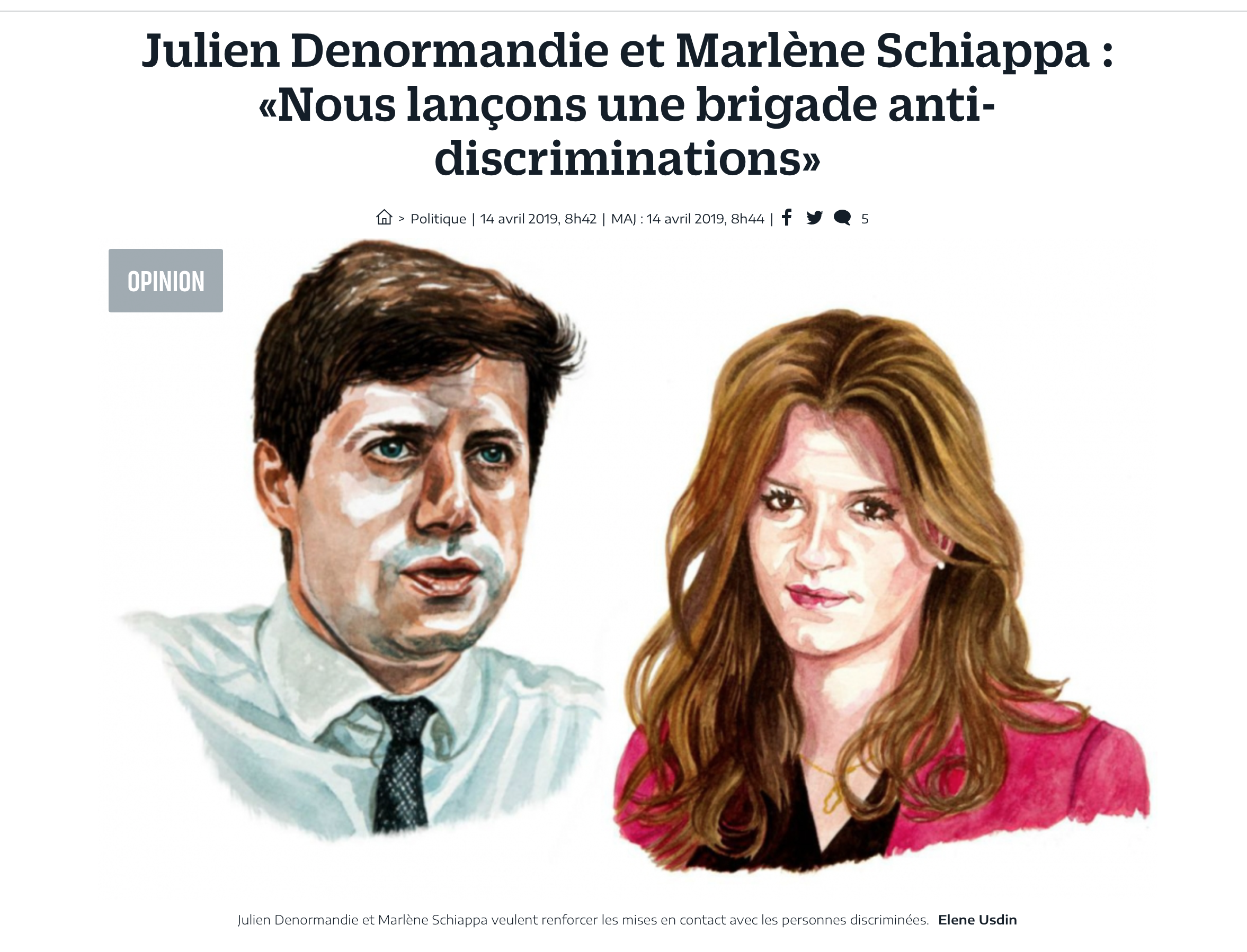 Schiappa lance sa milice anti-discrimination, traduisez «préférence musulmane», la BADI