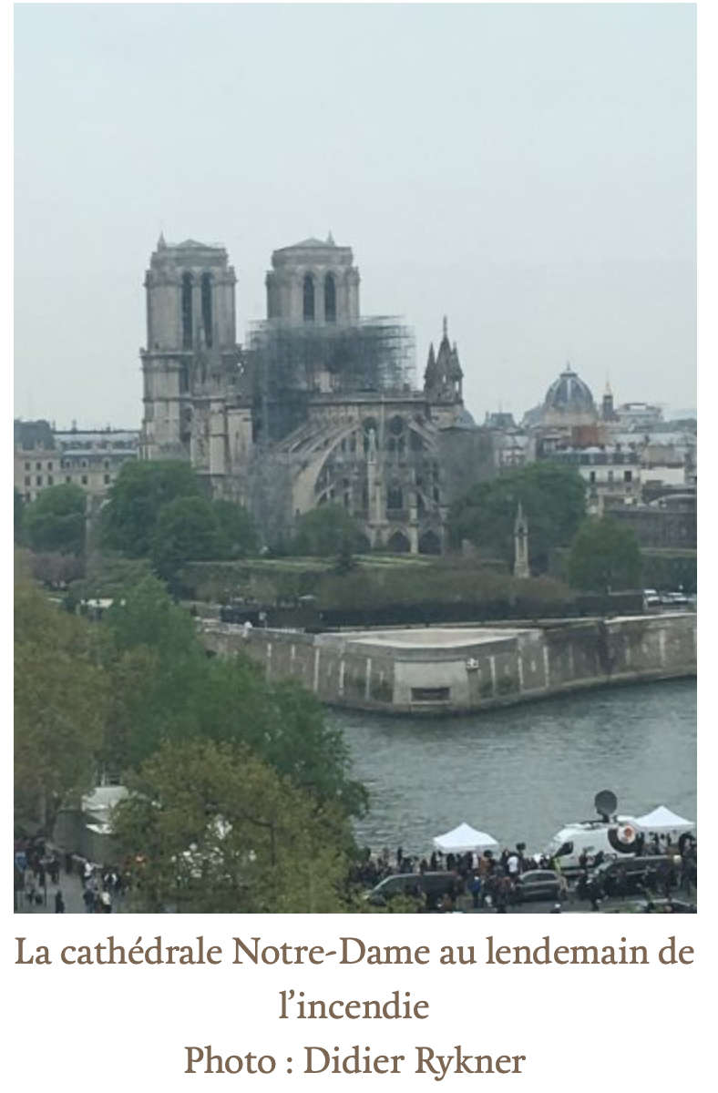 Ta gueule, Brigitte Macron, l'avenir de Notre-Dame ne te regarde pas