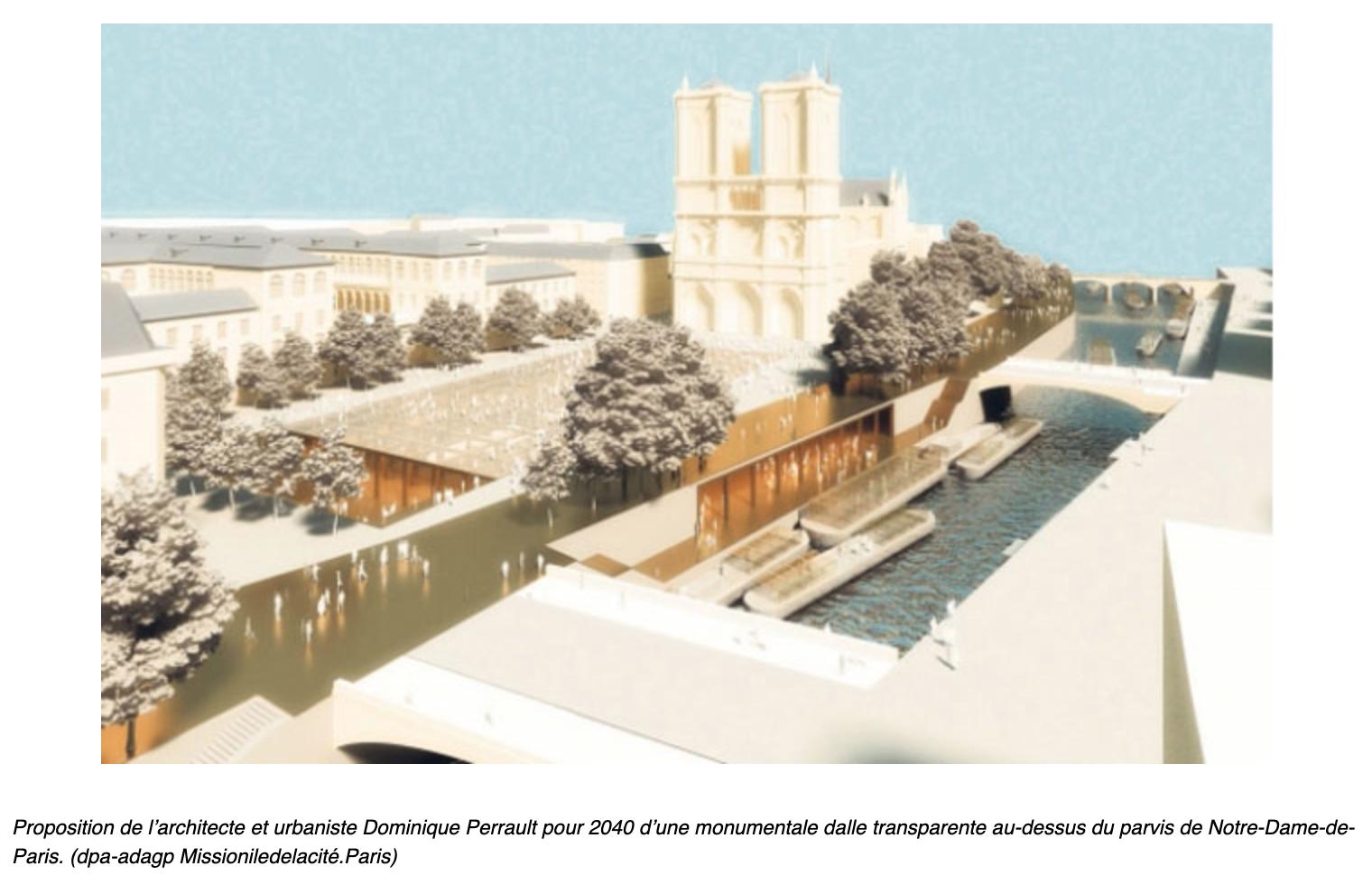 Ont-ils brûlé ND pour réaliser leur pharaonique projet de modernisation de l'île de la Cité pour les JO ?