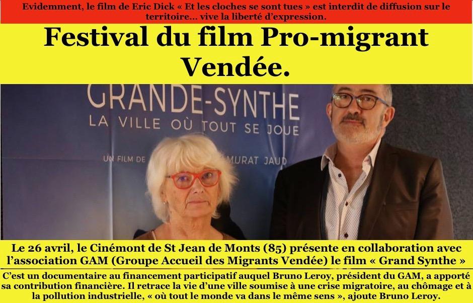 Demain, c'est la Saint-Migrant en Vendée, avec en vedette américaines tous les collabos du coin