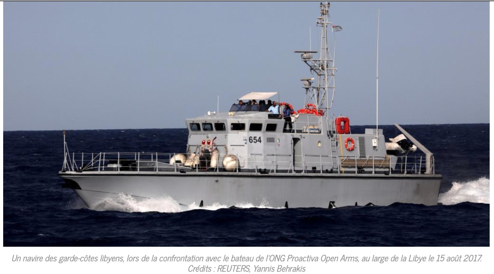 Macron copie Salvini ! Il envoie des bateaux aux garde-côtes libyens pour faire régner l'ordre !