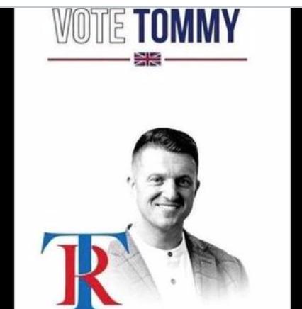 Tommy Robinson se lance en politique : première étape, les européennes