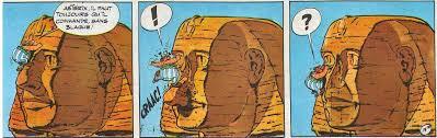 Toutankhamon était noir, les Blancs ont cassé le nez du sphinx pour dissimuler son nez épaté…