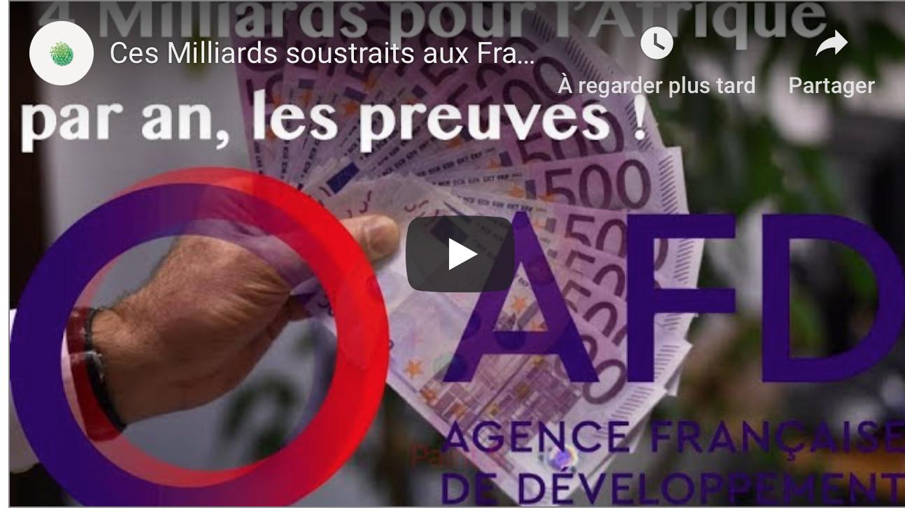 Ces milliards soustraits aux Français pour les peuples étrangers via l'AFD
