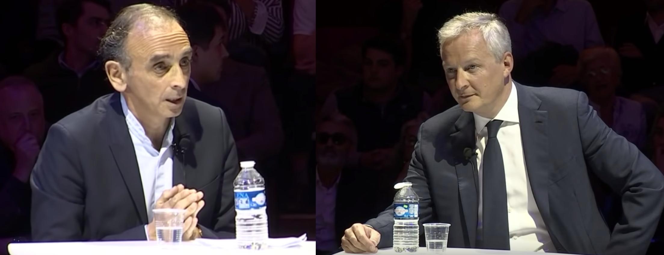 Européennes : Zemmour gagne par KO contre Le Maire