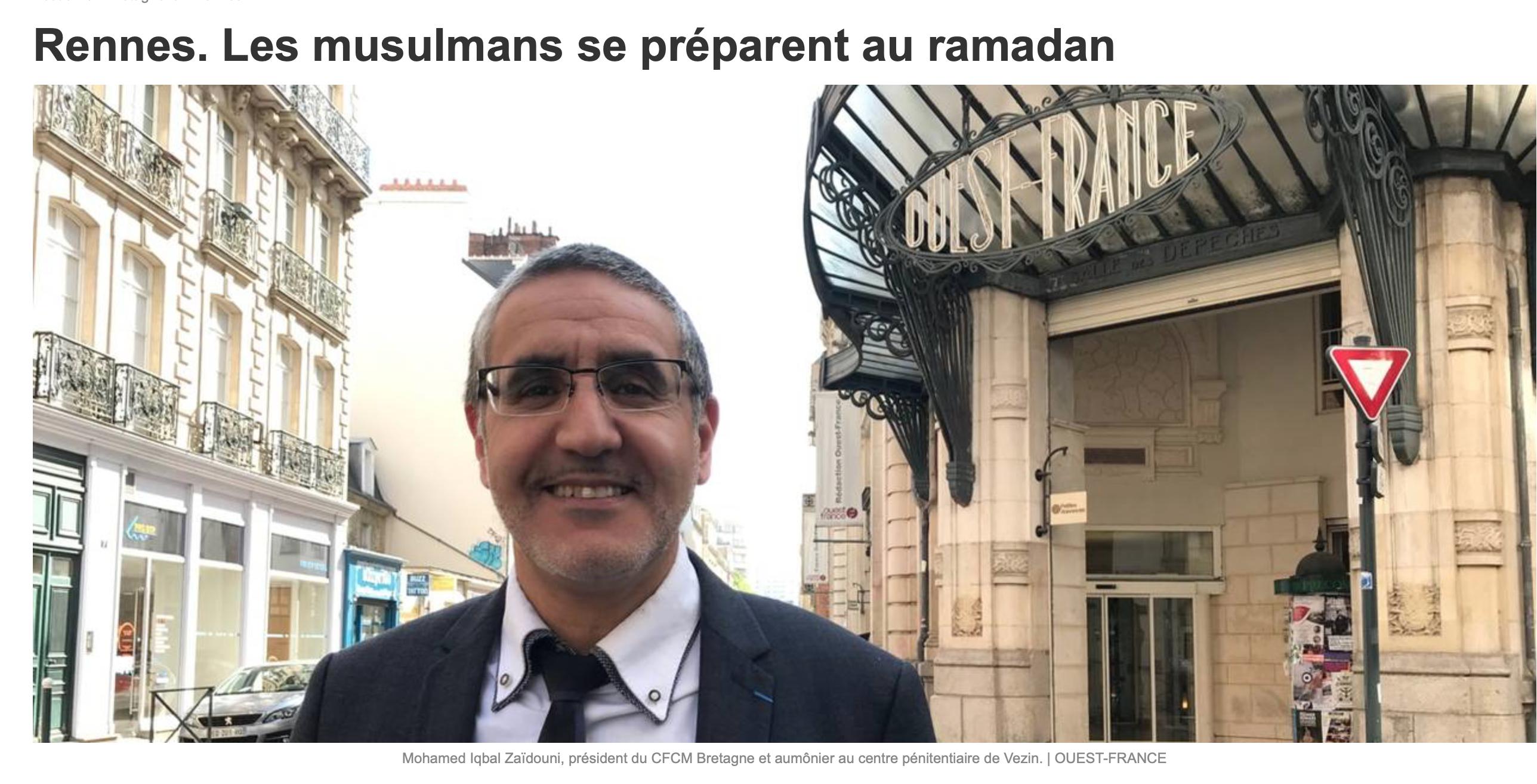 Ouest-France ne sait pas qu'il y a deux fois plus d'attentats et d'agressions musulmanes pendant le ramadan