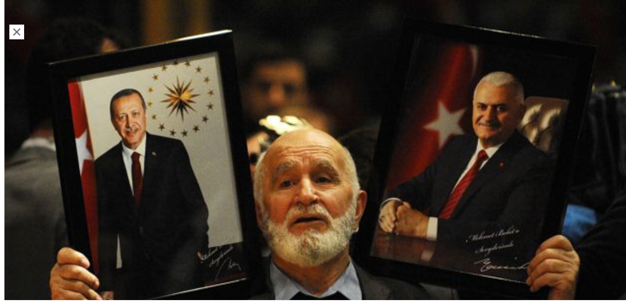 Macron, le seul chef d'Etat qui laisse Erdogan faire sa pub dans son pays, lui prête Belattar