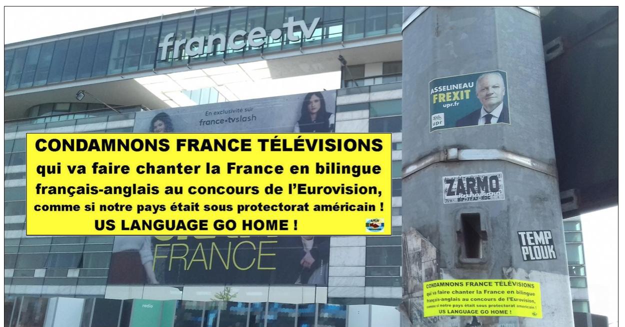 Eurovision : est-il normal que le représentant de la France chante en français «et en anglais» ?