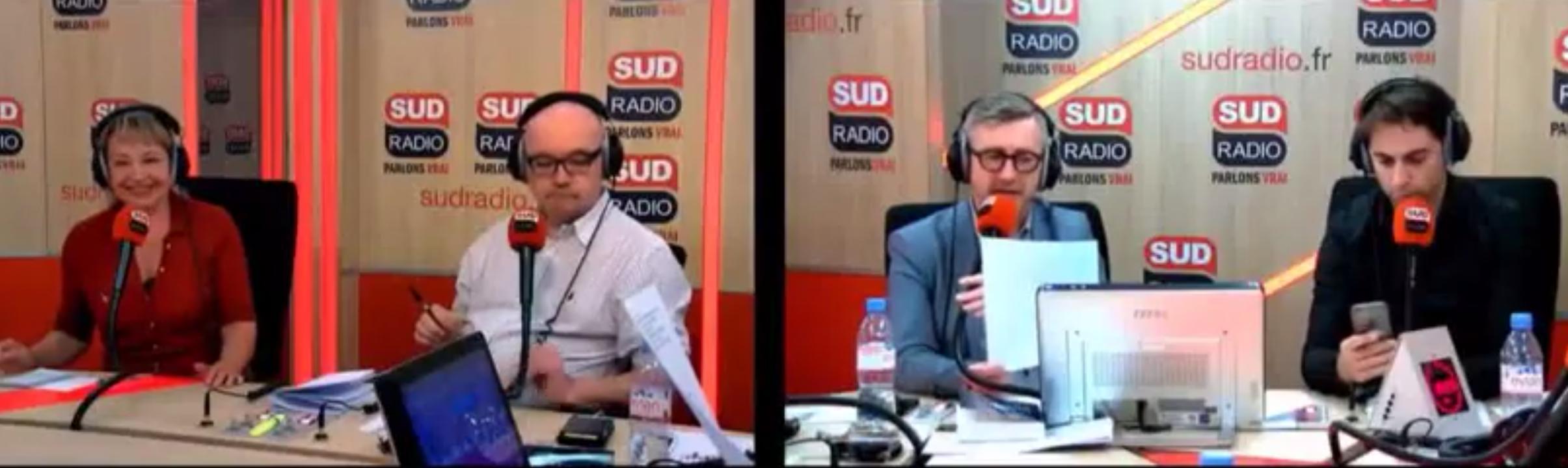 J'étais sur Sud Radio hier, pour parler de l'UDMF, la liste «islam» qui se présente aux Européennes