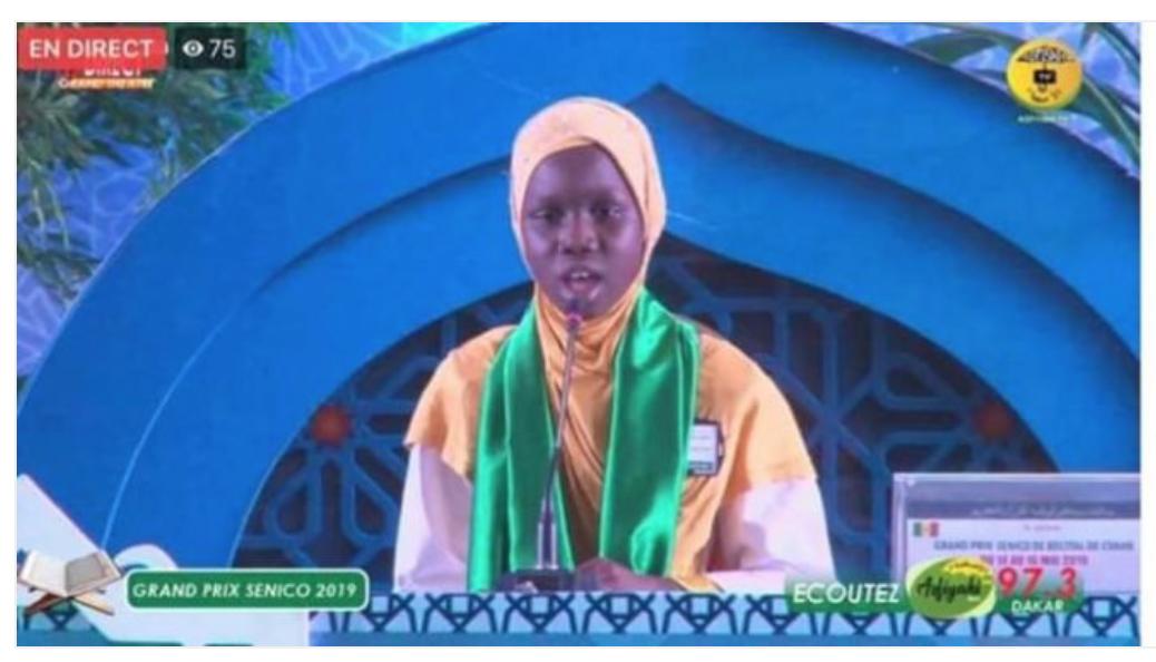 Sénégal : la gourdasse championne de récitation du Coran a gagné un pélerinage à la Mecque !