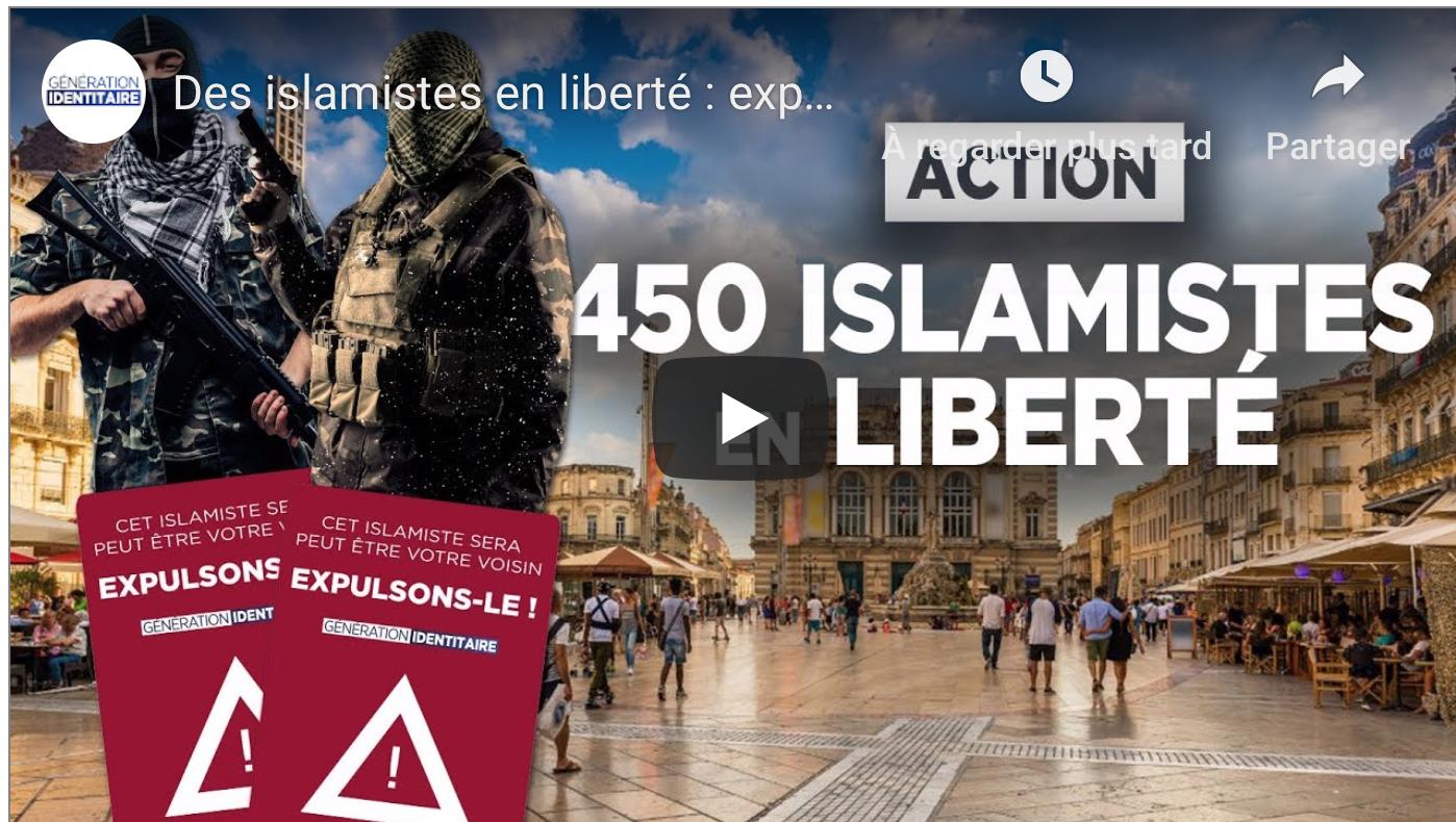 450 islamistes en liberté : expulsons-les !