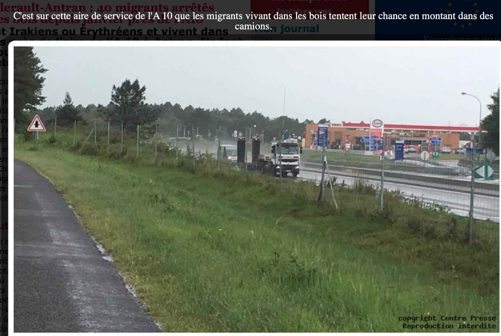La France sous Macron : passeurs irakiens en berline allemande, clandestins sur les aires d'autoroute…