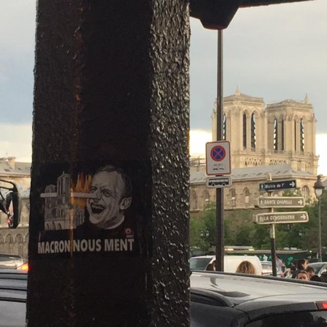 Macron nous ment : les patriotes à la manoeuvre !