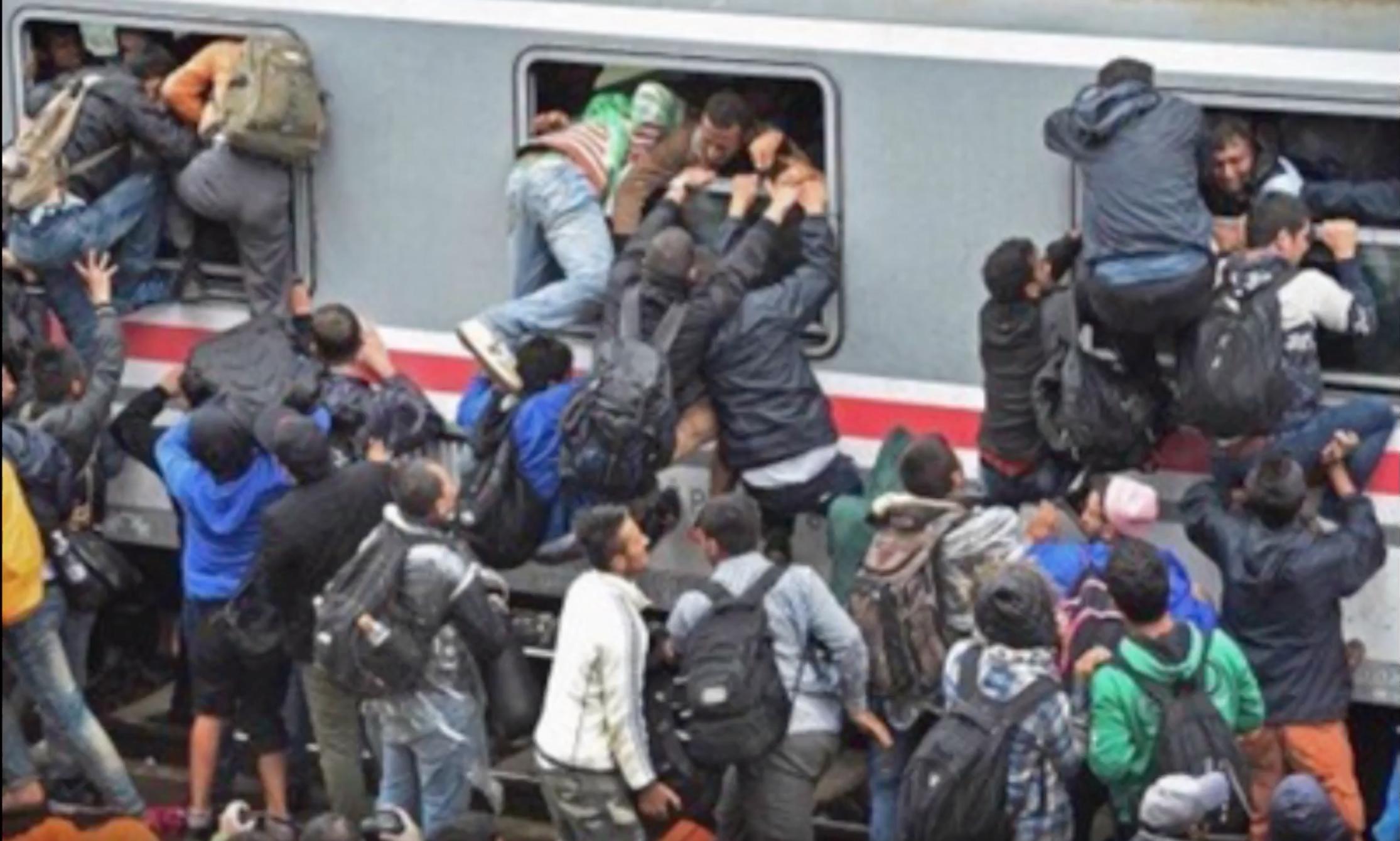 Le Ministre de Macron, Delevoye, promet à Créteil qu'il y aura 50 millions d'immigrés en Europe