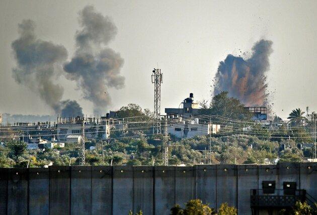 On a encore passé la nuit dans la cage d'escalier, sous 480 roquettes envoyées depuis Gaza !