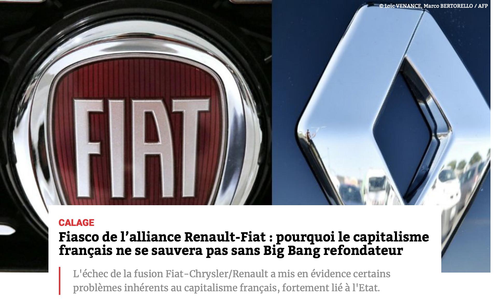 Bruno Le Maire, pour Macron, a fait délibérément capoter l'alliance Renault-Fiat !
