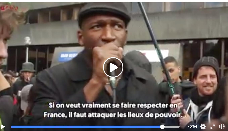 Jonction «Adama Traoré» (banlieues) et Gilets jaunes gauchos : appel à renverser le pouvoir !