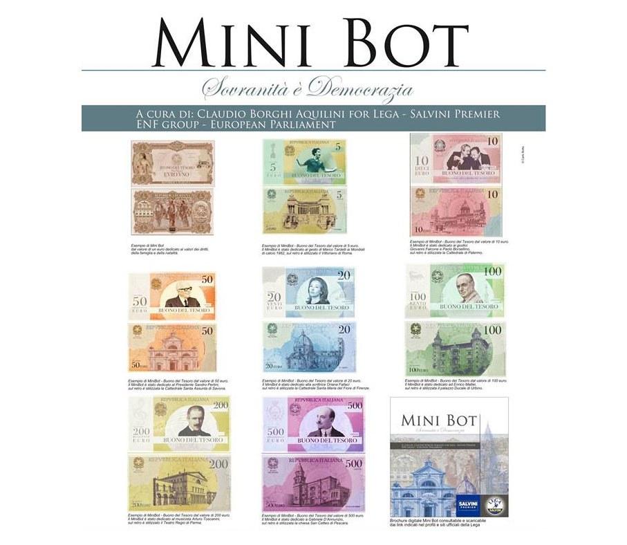 Bonne ou mauvaise, l'idée de Salvini de créer une monnaie parallèle, alternative à l'euro, les MiniBOTs ?
