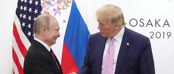 Coup de pied à ses ennemis :  Trump plaisante avec Poutine «Ne te mêle pas de l'élection !»
