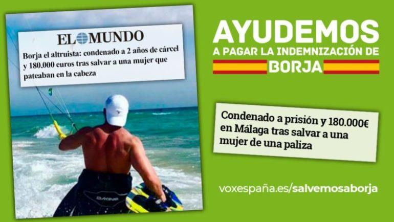 Espagne : 2 ans de prison et 178 000 euros à payer pour le jeune qui a défendu une femme agressée !