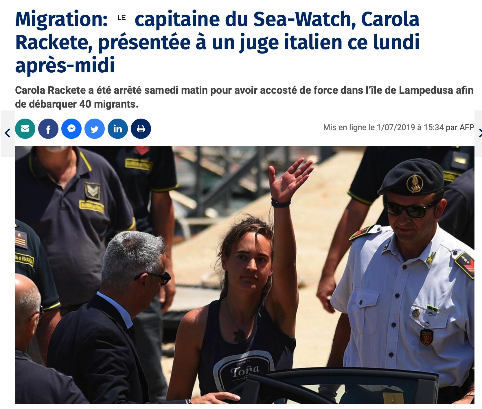Record de Notre-Dame battu,  plus d'un million d'euros pour le capitaine du See Watch 3 : ça vous étonne ?
