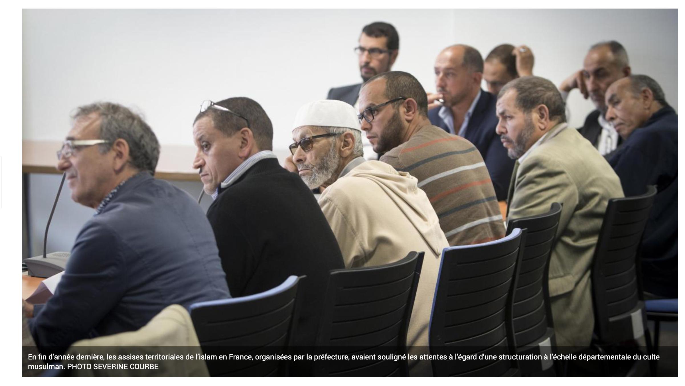 Castaner installe des responsables musulmans départementaux, futurs » interlocuteurs des pouvoirs publics»
