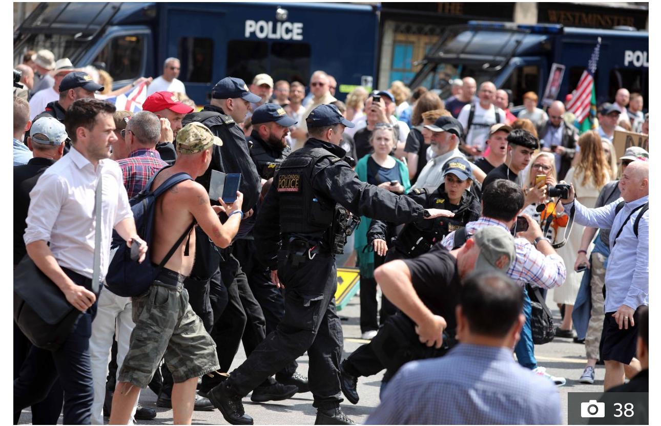 L'emprisonnement de Tommy Robinson déclenchera-t-il la lutte des classes ?